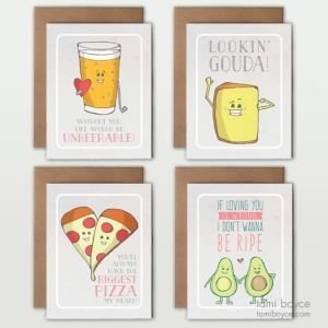 Love Pun Greeting Cards