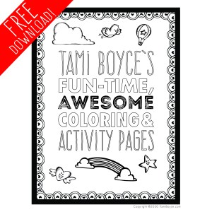fun time awesome coloring and activity pages