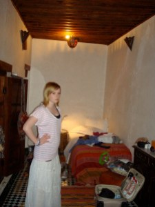 our room at Dar El Hana