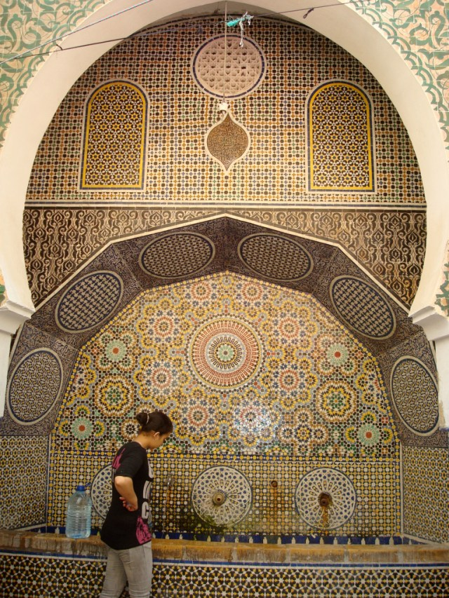 fountain in Fez