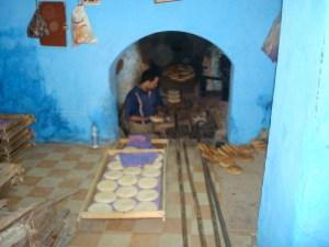 bakery in Fez