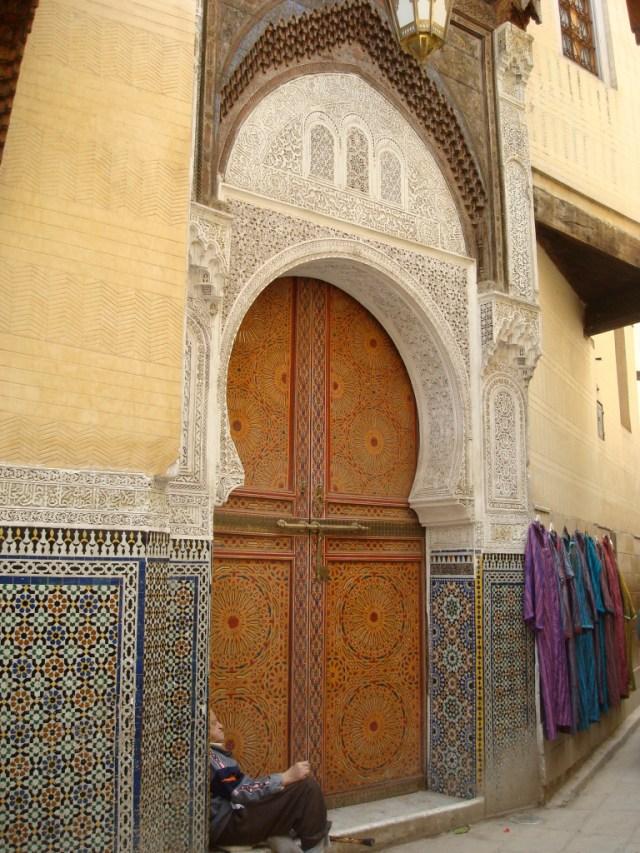 doorway, Fez