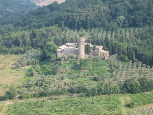 View of Umbrian countryside, Orvieto, Italy