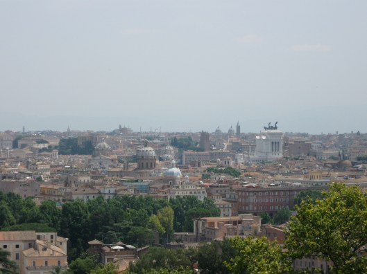 View of Rome from Gianicolo Hill, Italy
