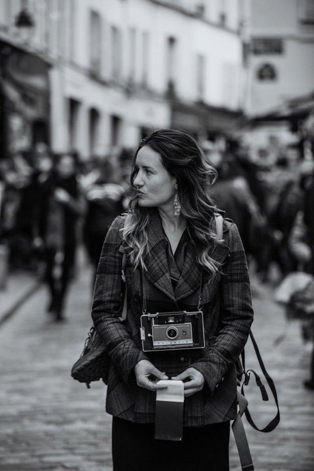 Amanda René in Paris France by Tami Keehn