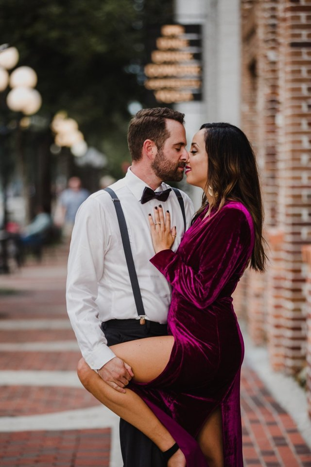 Urban Chic Downtown St Pete Florida Anniversary session with photographer Tami Keehn.