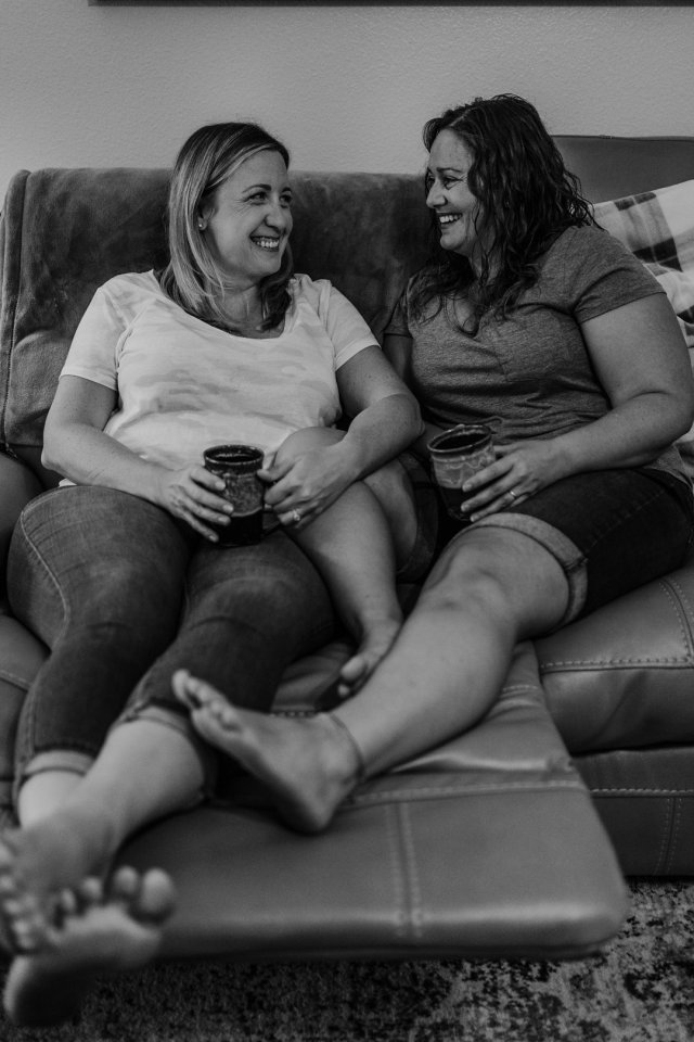 Cozy Indoor at home session with Tampa Engagement Photographer Tami Keehn