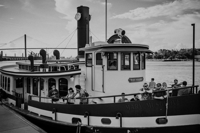 Tugboat in Savannah Georgia