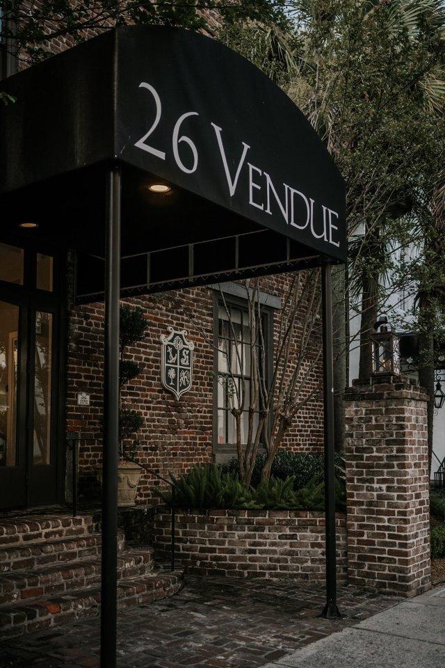 The Vendue Hotel in Charleston, SC