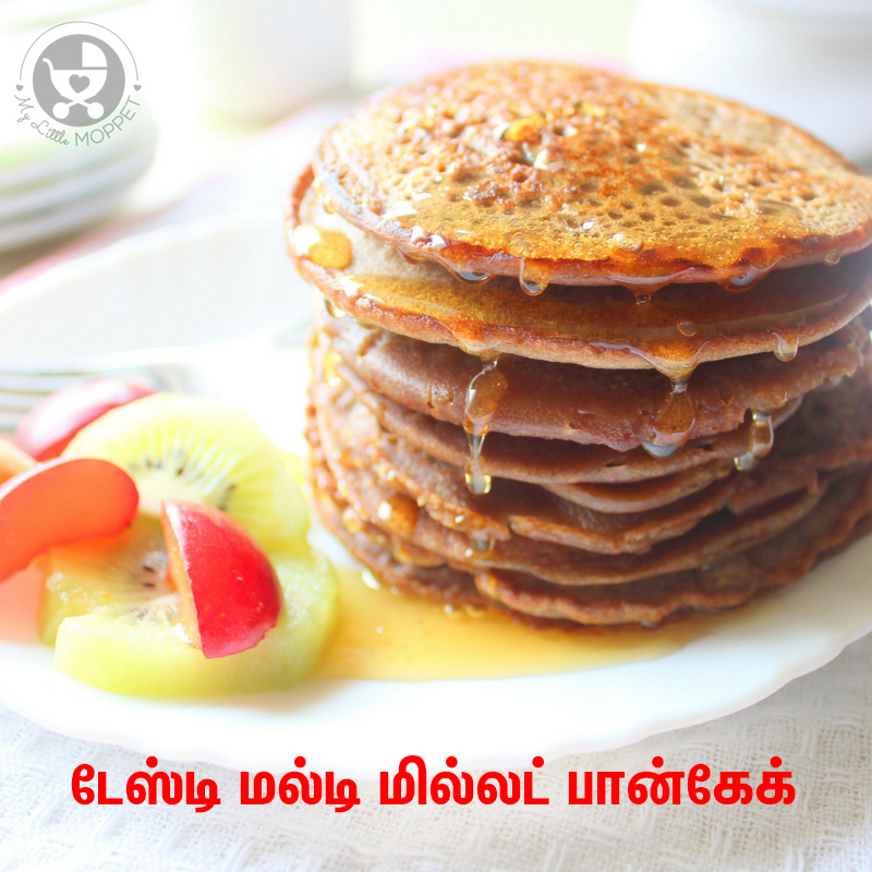 Multi millet pancake for kids