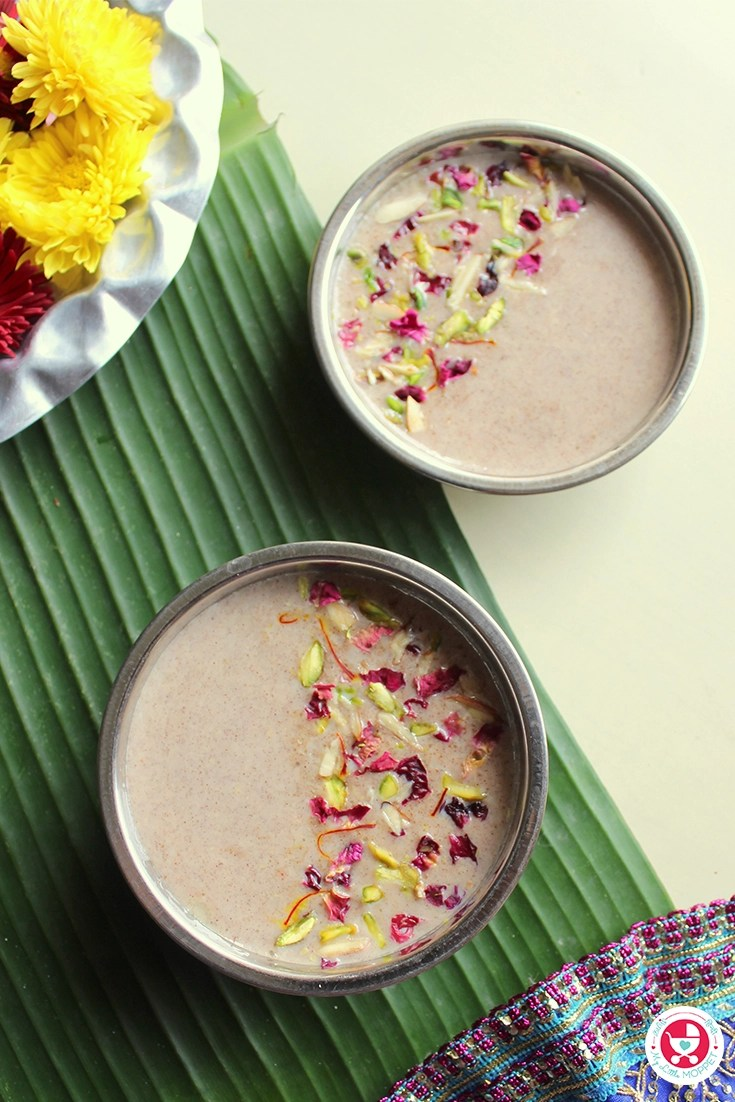 Millet Kheer / Payasam Recipe