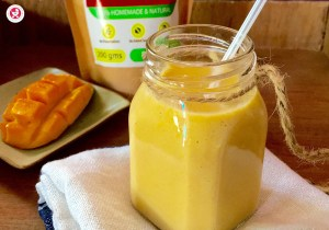 Multigrain Mango Milkshake for Toddlers