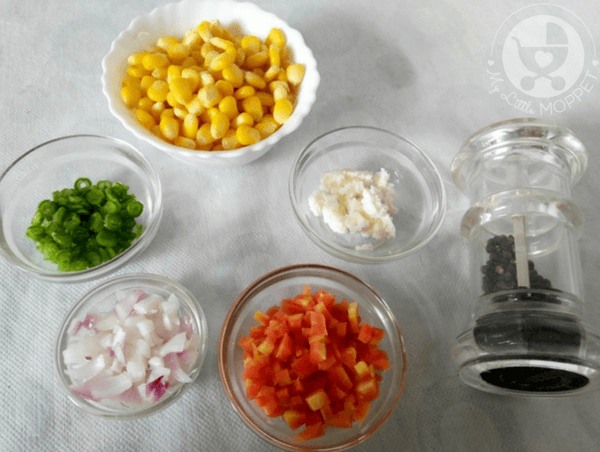 sweetcorn vegetable soup ingredients
