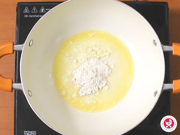 Add wheat flour