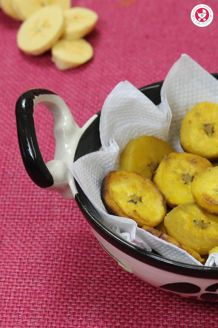 Kerala Banana Ghee Fry in Tamil
