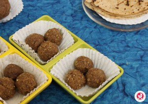 Chapathi Laddu snacks for Kids: