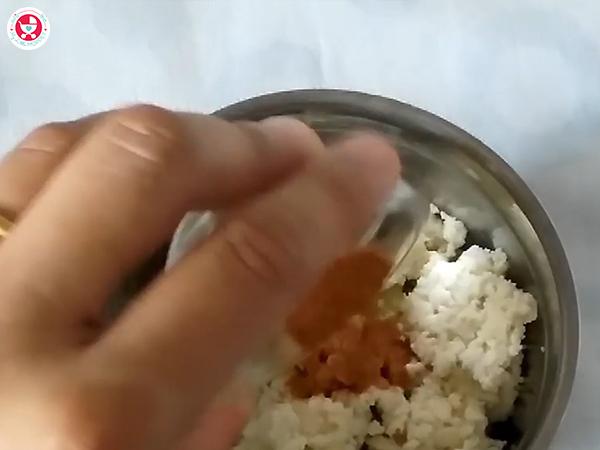 add the cinnamon powder