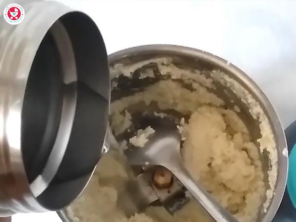 Add little warm drinking water