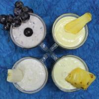 4 Fruit Yogurt Recipe for Babies in Tamil