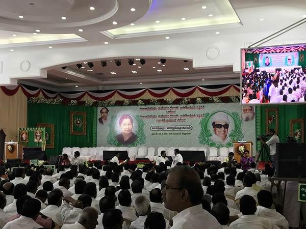 ADMK general body meeting 95% functionaries attend