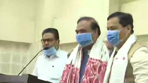 असम ने चुना नया मुख्यमंत्री - हिमंत बिस्वास शर्मा की बीजेपी से भिड़ंत