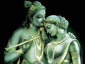 Radhai With Krishna