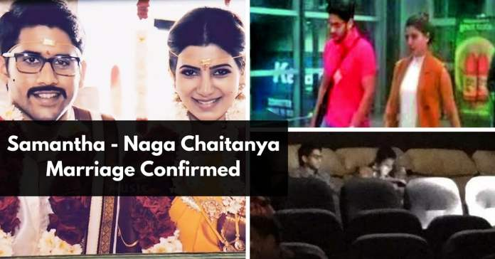 Samantha – Naga Chaitanya Marriage Confirmed