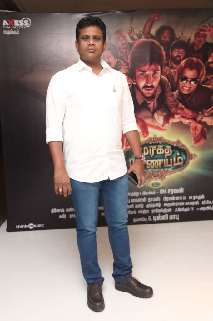 Maragadha Naanayam Movie Audio Launch Photos