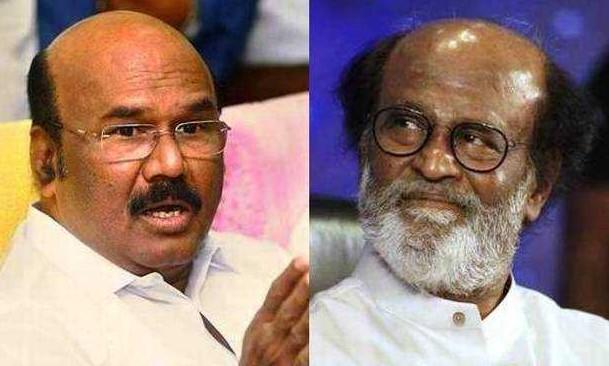 Jayakumar wishing rajinikanth for his decision