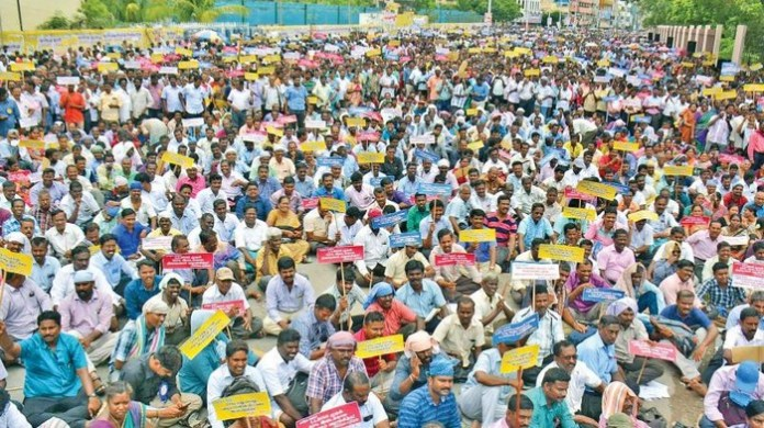 TN Govt action on Jacto jio protest teachers - tamilnaduflashnews.com
