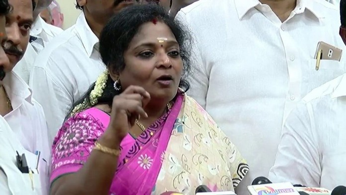 Tamilisai soundararajan comment on bjp