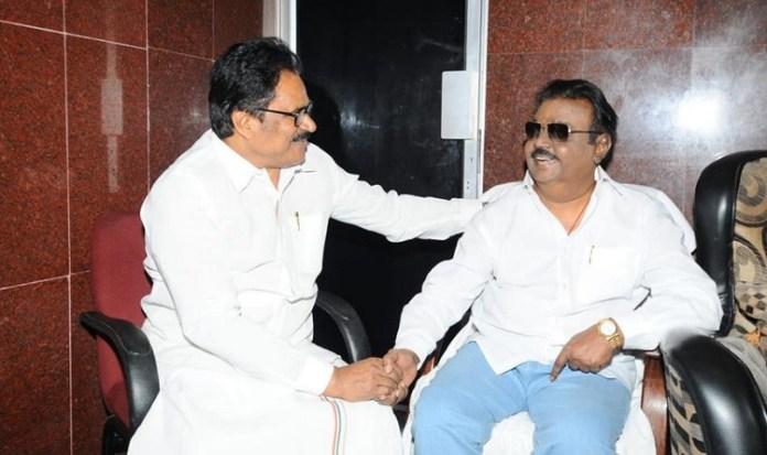 Vijayakanth may join in dmk alliance