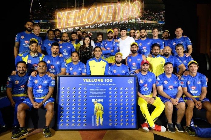 Sakshi Dhoni wishes husband 'Thala' MS Dhoni on 100 IPL
