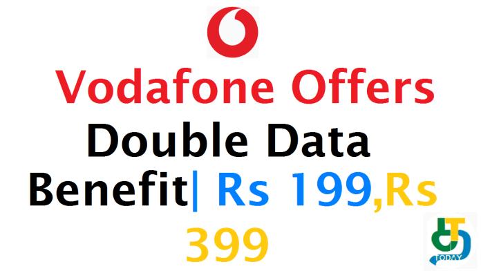 வோடாபோன் Double Data ஆபர் 2019
