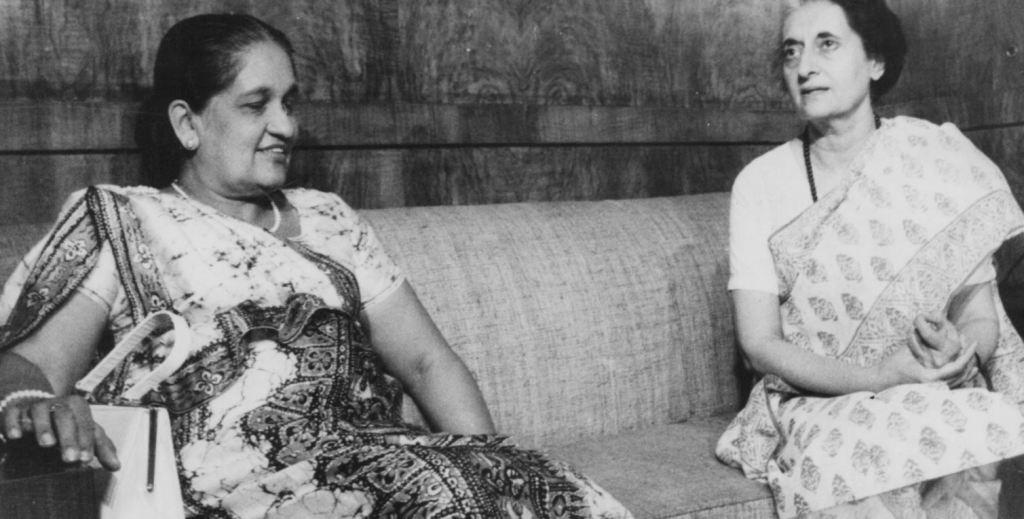 Indira Gandhi - bandaranayake