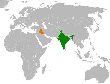 Iraq and India