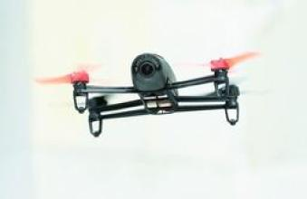 Russian Institute of Innovation deliveries Pitsa through mini unmanned aircraft