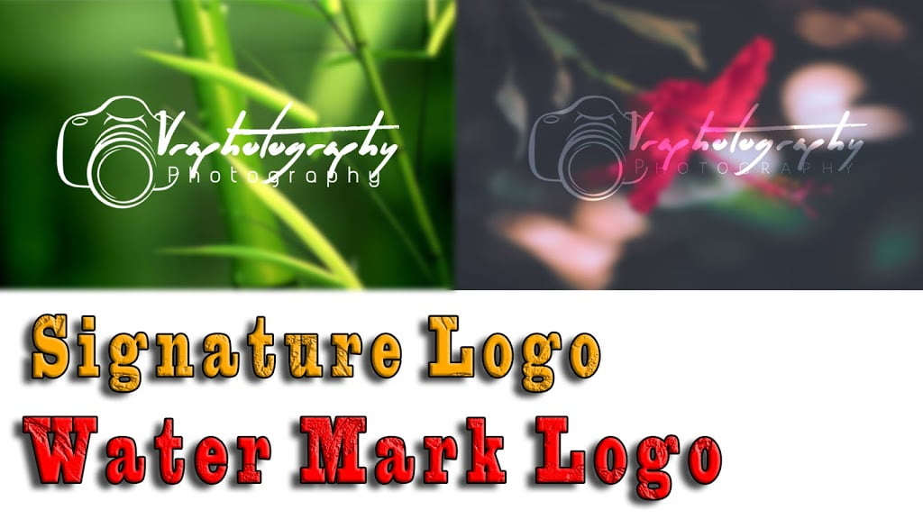 Photography signature logo | PicsArt Editing Tutorial | how to download the font | Tamil vra Tech