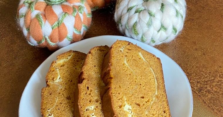 Treat Tuesday-Pumpkin Cream Cheese Bread