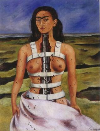 Columna Rota por Frida Kahlo.