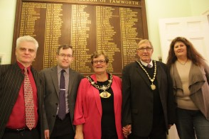 LitFest, Peel Society, Mayor and Consort