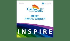 Gold Quill Merit Award