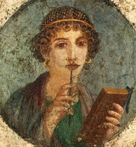 Woman And Tablet 50 AD