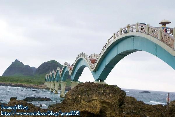 《台東旅遊》成功。三仙台風景區 見識東台灣的跨海大橋