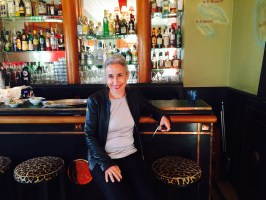 Me in the bar at the Belles Rives   Hotel