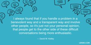 David M. Kelley quote