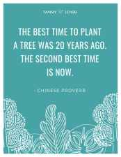 The best time to plant (poster)