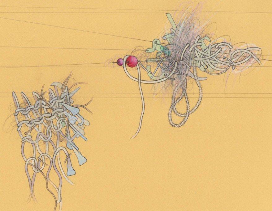 Untitled (detail) Pencil on paper 50cm x 65cm © 2009 Tammy Lu