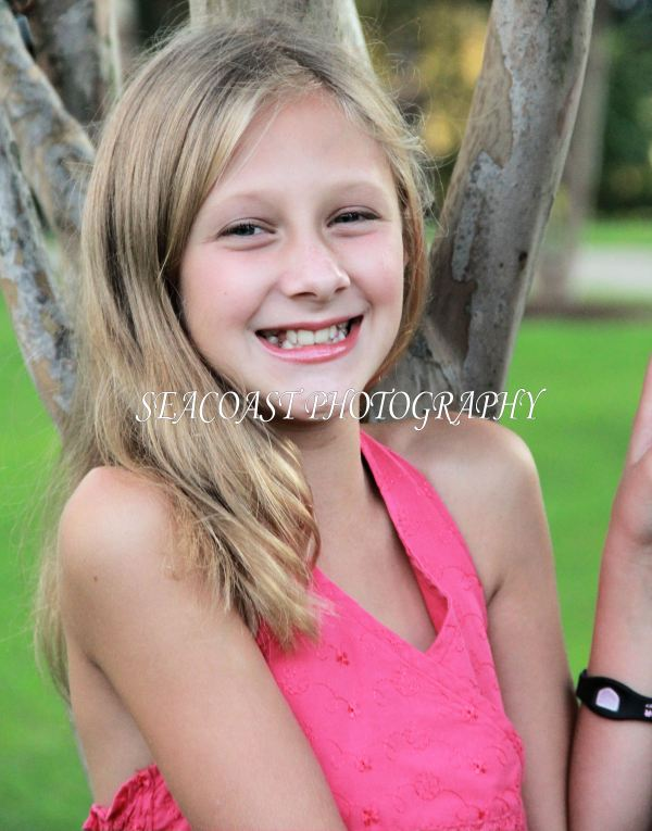 Portrait Photo Shoot with a Preteen Girl The Work and