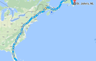 East Coast North America Adventure